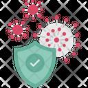 Coronavirus Defence Shield Coronavirus Icon