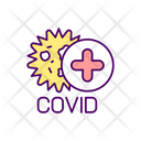 Coronavirus Infection Icon