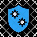Safety Shield Covid Icon