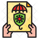 Coronavirus Insurance Icon