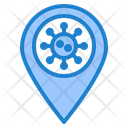 Coronavirus Location Icon