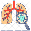 Lungs Infection Coronavirus Lungs Attack Corona Attack Icon