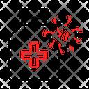 Coronavirus Medicine Icon