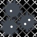 Coronavirus Molecules Icon