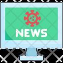 Coronavirus News Icon