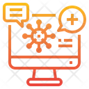 Health Education Article Computer Icon