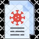 Virus Document Coronavirus Icon