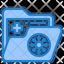 Virus Covid File Icon