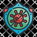 Coronavirus Shield Icon
