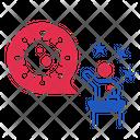Coronavirus Speech Icon
