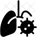 Virus Lungs Infection Icon