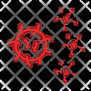 Coronavirus Spreading Icon