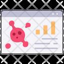 Coronavirus stats Icon