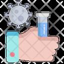 Coronavirus Testing Icon
