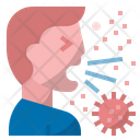 Coronavirus Transmission Covid Coronavirus Icon