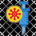 Vaccine Covid Syring Icon