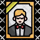 Corpes Man Frame Portrait Icon
