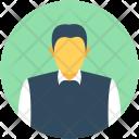 Corporate Person Accountant Icon