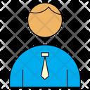 Corporate Avatar Man Icon