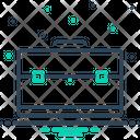 Corporate Briefcase Business Icon