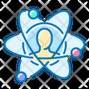 Corporate Development User Atomic Development Icon