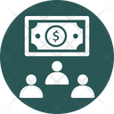 Corporate Finance Investors Shareholders Icon