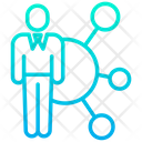 Corporate Network Icon