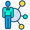 Corporate Network Connection Icon