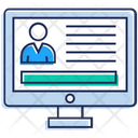Corporate Network Profile Icon