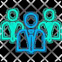 Team Corporate Business Team Icon