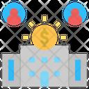 Corporation Bank Company Icon