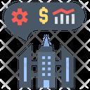 Corporation Office Company Icon