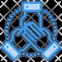 Team Corporation Worldwide Icon