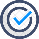 Active Approval Correct Icon