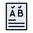 Correct Font Font Design Icon