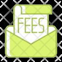Correspondence Email Fees Icon