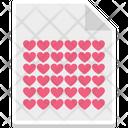Correspondence Heart Sign Love Icon