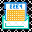 Correspondence Letter Communication Icon
