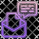 Correspondence Emailm Correspondence Email Email Communication Icon