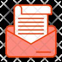 Correspondence Mail Development Icon