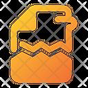Corrupt File Corrupt Document Broken Icon