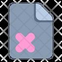 Corrupted File Corrupted Error Icon