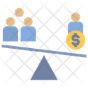 Corruption Unfair Inequality Icon