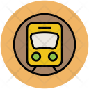 Cortege Train Transport Icon