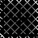 Cosine Graph Icon