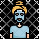 Mask Sheet Face Icon