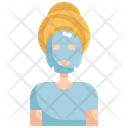 Mask Woman Cosmetic Icon