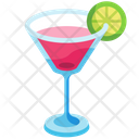Cosmo Cocktail Icon