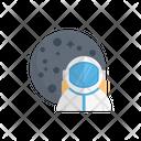 Cosmonaut Astronaut Moon Icon