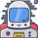 Cosmonaut Suit Space Icon